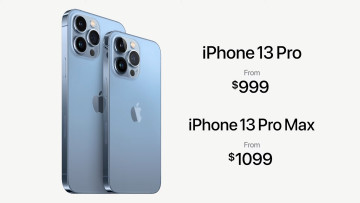 iPhone 13 Pro and Pro Max features in an infographic