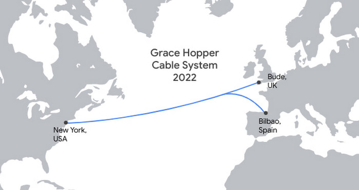 A map of where Grace Hopper operates