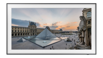 The Louvre museum on The Frame