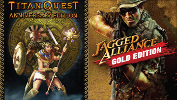 THQ Nordic giveaways of Jagged Alliance and Titan Quest