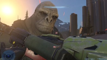 This is an image of Craig the Brute from Halo Infinite