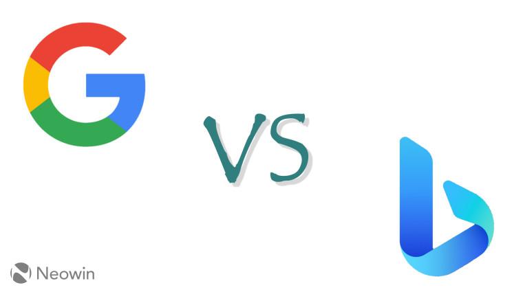 Google vs Bing