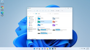 File Explorer open in Windows 11 on desktop