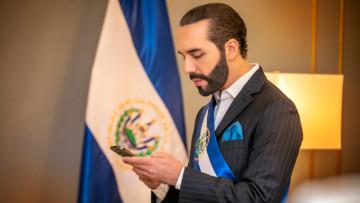 The President of El Salvador Nayib Bukele