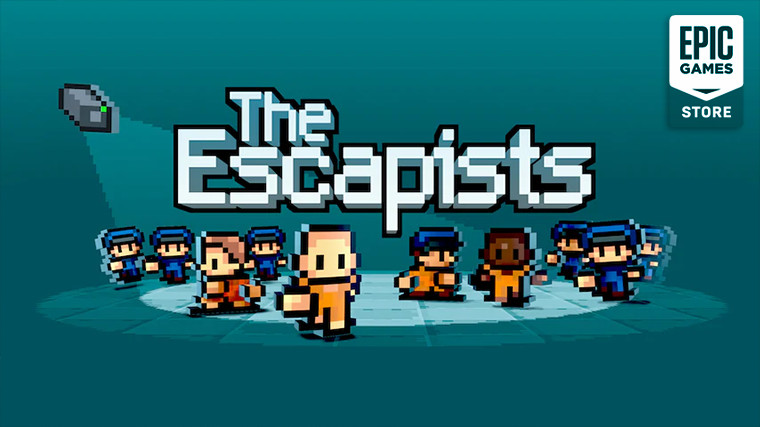 The Escapists box art with Epic Games Store logo in right top corner