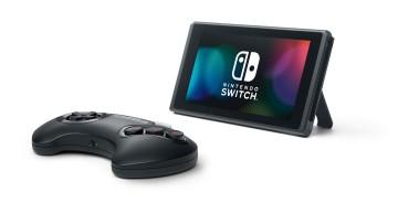 Nintendo Switch Sega Genesis controller
