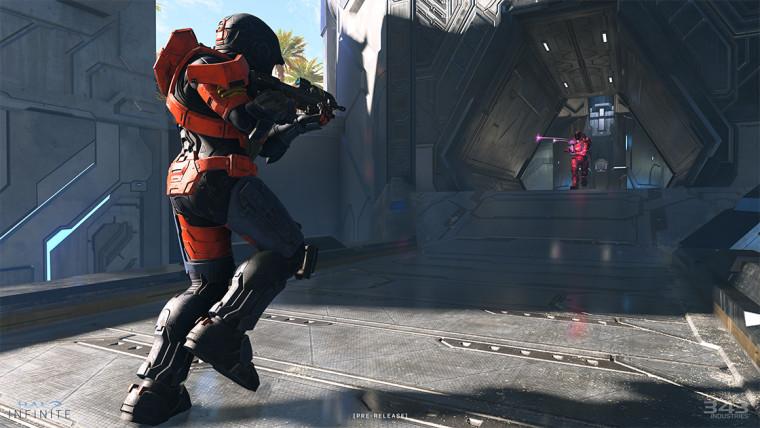 Halo Infinite pre-release multiplayer screenshot
