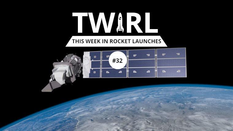 The TWIRL logo and the Landsat 9 satellite