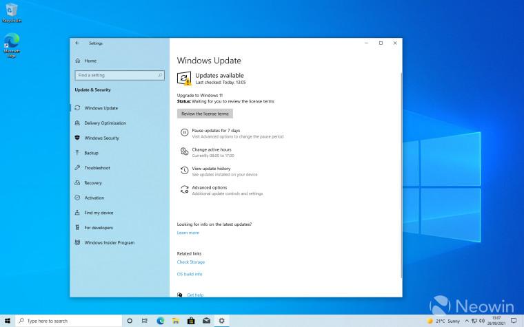 windows 10 to 11 screenshots