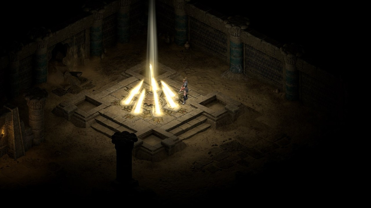 This is an image from Diablo II Resurrected