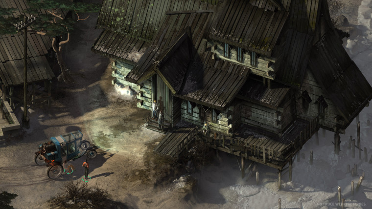 This is a screenshot from Disco Elysium