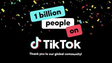 TikTok celebrates 1 billion users