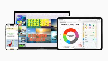 Apple iWork Productivity Apps