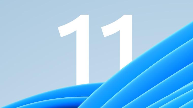 A Windows 11 logo wallpaper