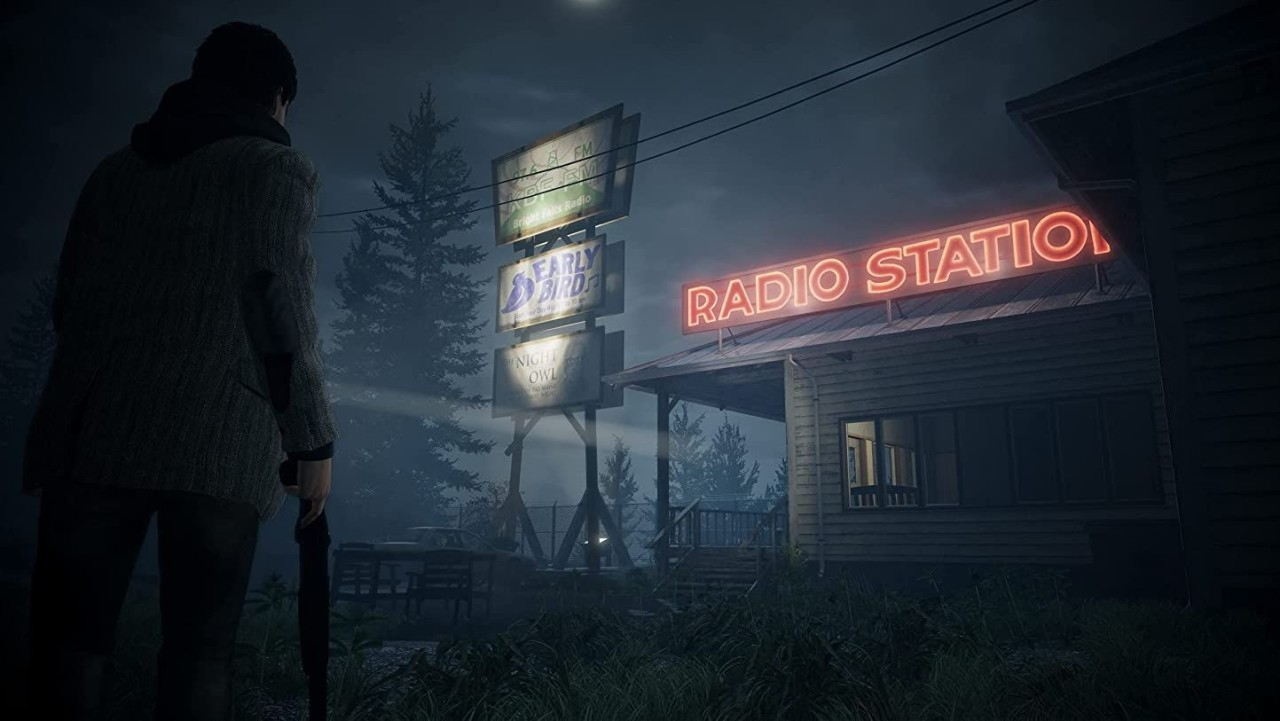 This is a screenshot of Alan Wake Remastered