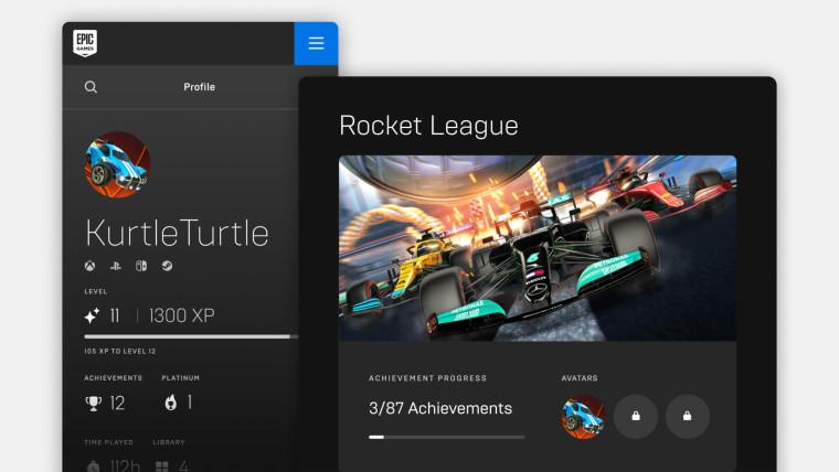Epic Games Store Achievements feature
