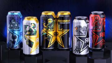 The Halo Infinite Rockstar Energy drinks