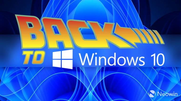 go back to windows 10 brah