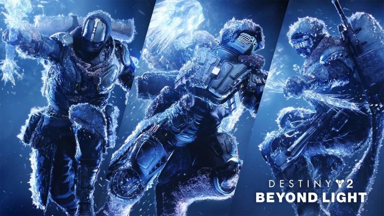 Destiny 2 Beyond Light expansion key art