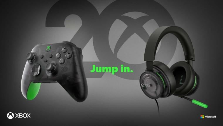 Xbox 20th anniversary special hardware