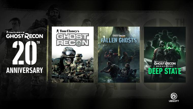 Ghost Recon giveaway 20th anniversary