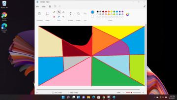 Screenshot of Paint open in Windows 11 desktop