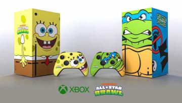 The SpongeBob and Teenage Mutant Ninja Turtle Xbox Series X&039s