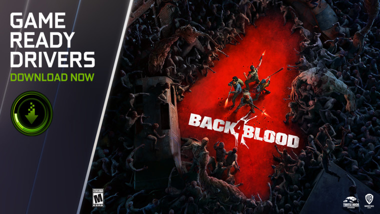 Nvidia Back 4 Blood game ready driver