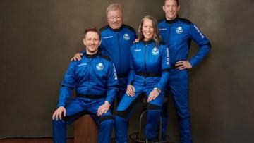 Blue Origin Shatner mission