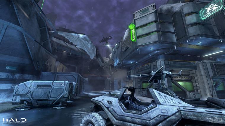 Halo MCC Halo 3 map Icebox screenshot