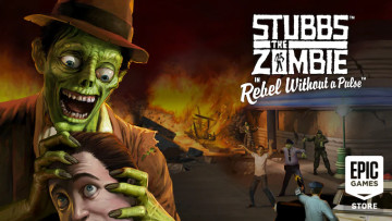 Epic Games Store is offering Stubbs the Zombie in Rebel Without a Pulse to claim and keep for free t