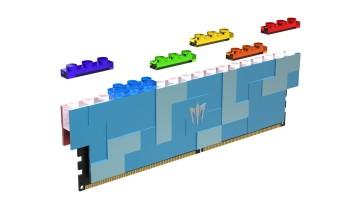 GALAX GAMER DDR5 Lego RAM with LEGO attachments