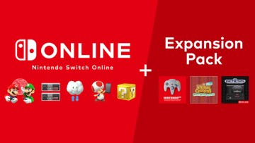 Nintendo Switch Online  Expansion Pack promotional image