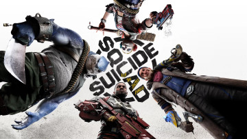 Suicide Squad kill the justice league key art