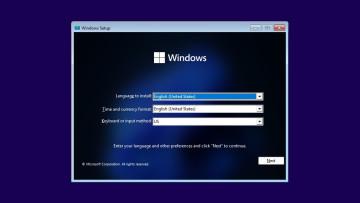 Rectify 11 start screen for Windows 11 setup