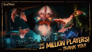 Sea of Thieves 25 million players