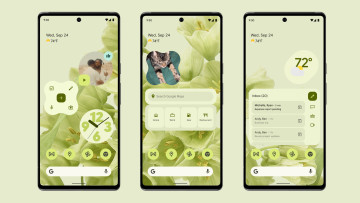 Screenshots of Android 12