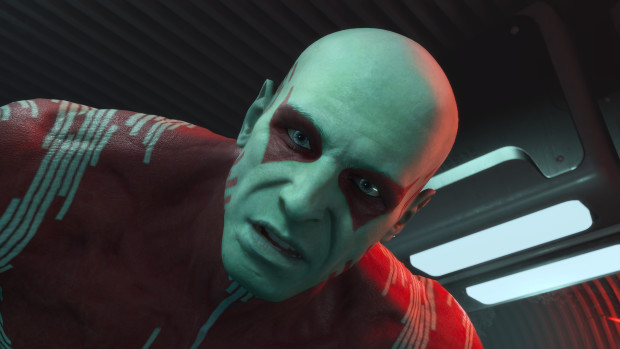 This is a screenshot from Marvels Guardians of the Galaxy on Xbox Series X