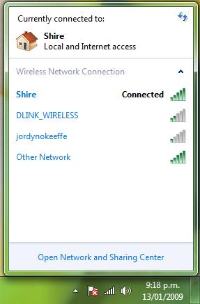 windows 7 homegroup network sharing