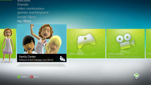 new xbox 360 dashboard