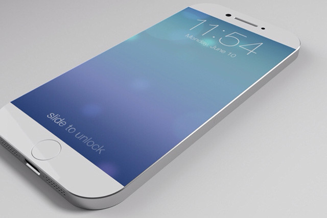 Concept render of the new iPhone.