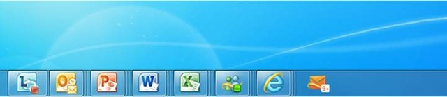 hotmail taskbar icon
