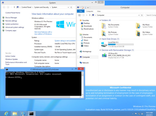 Windows 8.1 build 9374 labeled as 'Pro Preview' - Neowin