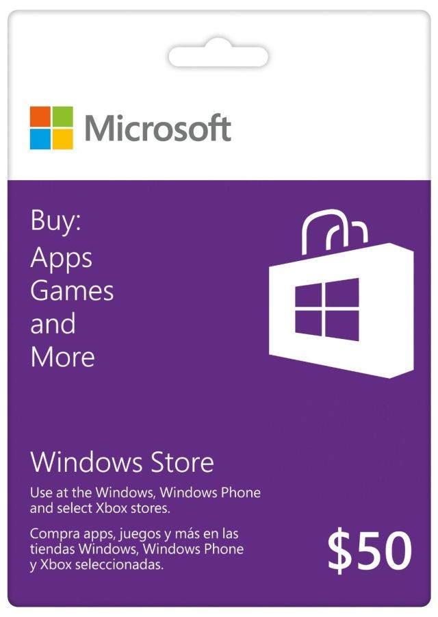 Microsoft offically launches new Windows Store and Xbox Gift Cards ...