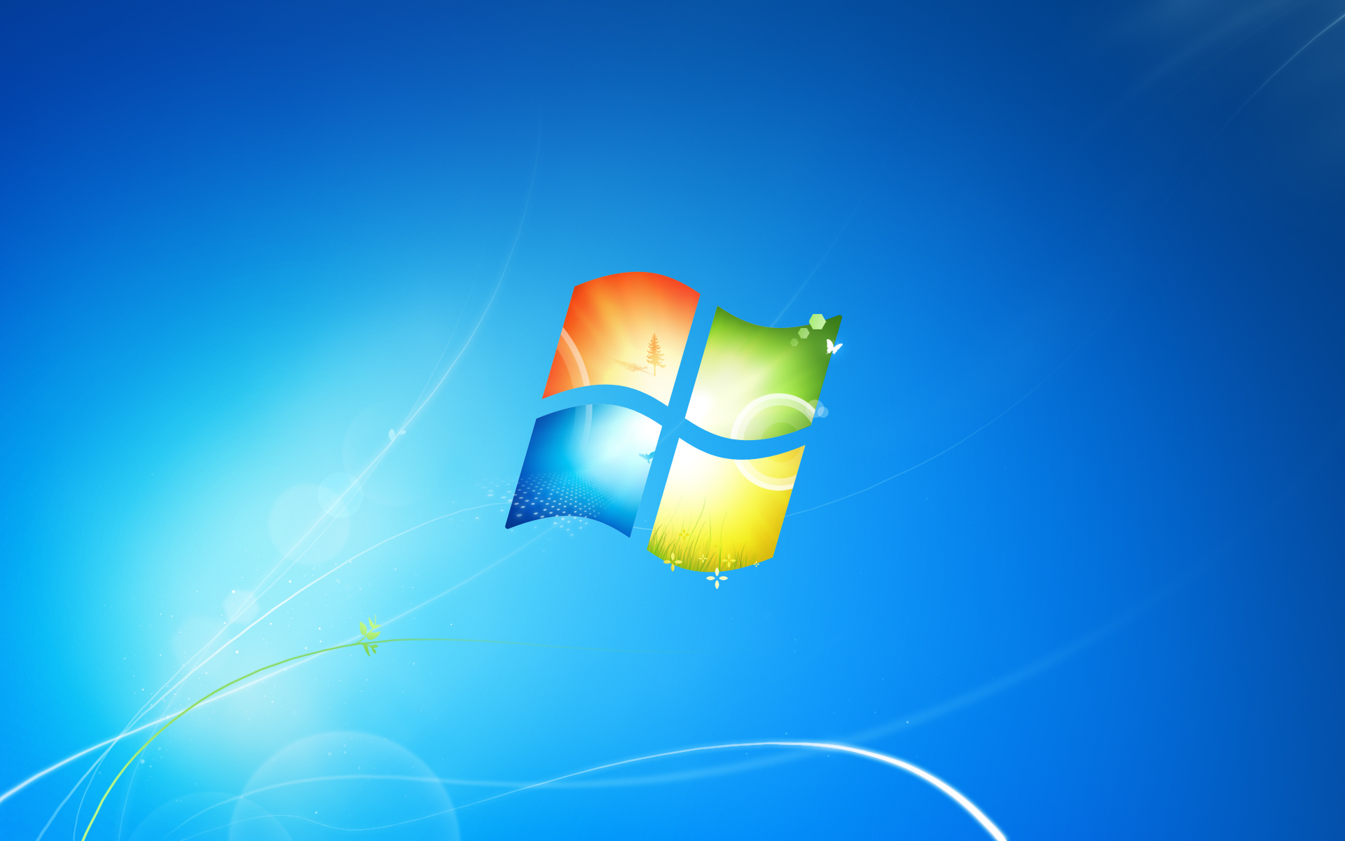Windows 7 build 7232 leaks, with new wallpaper