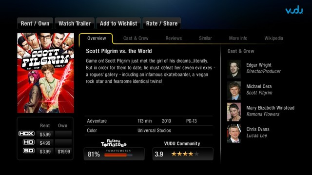 VUDU for PlayStation 3 launches - Neowin