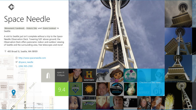 Official Foursquare app for Windows 8 released - Neowin