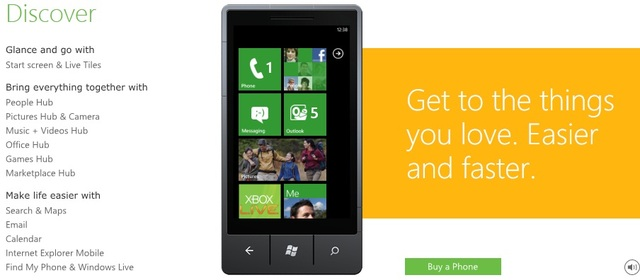 windows phone 7 portal goes live neowin. Black Bedroom Furniture Sets. Home Design Ideas
