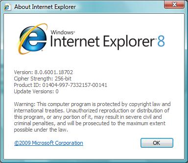 ついに「Internet Explorer 8」正式版の日本語版がダ …