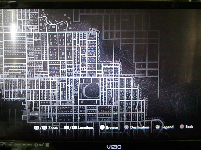 The first image of LA Noire's expansive map.